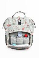 Baby Balloon Bag Anne Bebek Bakım Sırt Çantası
