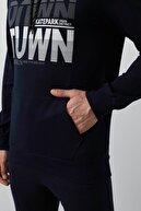 Buratti Pamuklu Baskılı Kapüşon Yaka Kışlık Sweat Erkek Sweat 541downtown