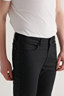 Avva Erkek Siyah Slim Fit Jean Pantolon A11y3549