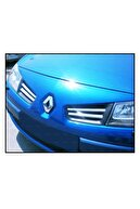 FAMS OTO AKSESUAR Renault Megane 2 Krom Ön Panjur 4 Prç. 2004-2010 Arası P.çelik