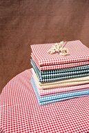 vivamaison Kırmızı Kareli Masa Örtüsü Piknik Örtüsü
