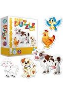 Circle Toys Bebek Puzzle Çiftlik Hayvanları 12 Ay+ 27 Parça