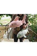 MY toys Uyku Arkadaşım Yumuşak Köpek Balığı Gri - 50 Cm.