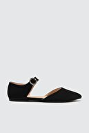 Trendyol Shoes Siyah Kadın Babet TAKSS21BE0012