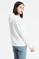Levi's Kadın Beyaz Graphic Sport Hoodie Sweatshirt 35946-0100