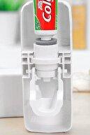 Morpanya Otomatik Diş Macunu Sıkacağı Macun Sıkıcı 5 Li Diş Fırçası Tutucu Diş Fırçalığı Df678