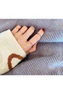 Mysoho Accessories Kadın Minimalist Eklem Yüzüğü Seti