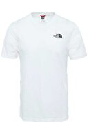 The North Face M S/S SIMPLE DOME Beyaz Erkek T-Shirt 100576721