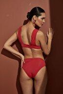 Bellisa Kırmızı V Bikini Takımı