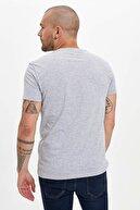 Defacto Erkek Gri Baskılı Slim Fit T-Shirt N6750AZ.20SM.GR362