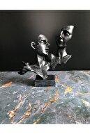PRIRODA CRAFT DESIGN Sevgili Mask Gümüş