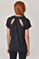 bilcee Siyah Kadın T-Shirt GS-8029