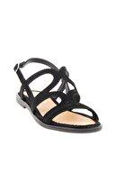 Bambi Sıyah Kadın Sandalet L0652071465