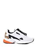 Bambi Beyaz/siy.camkırık Kadın Sneaker L0591938022