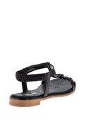 Bambi Siyah Kadın Sandalet L0512027736