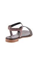 Bambi Kurşun Kadın Sandalet L0512700178