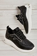 Bambi Siyah Kadın Sneaker L0541004799