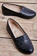 Bambi Siyah Kadın Casual Ayakkabı L05011002