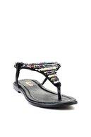 Bambi Siyah Kadın Sandalet L0625022478
