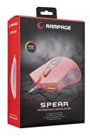 Rampage Spear 7200 Dpı Rgb Ledli Makrolu Drag Click Gaming Oyuncu Mouse Smx-g68