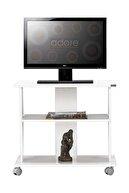 Adore Mobilya Süper Multimedya TV Sehpası - Lake Beyaz