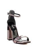 Bambi Kurşun Kadın Abiye Ayakkabı L0674033555