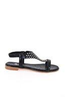 Bambi Siyah Kadın Sandalet L0512700678