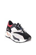 Bambi Kırmızı/mavi Kadın Sneaker L0601015472