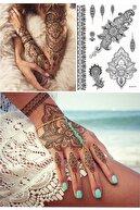 BP Tattoo Gloria Mandala Desenli Geçici Dövme