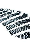 H&E DESIGN Siyah Tel Saç Tokası Seti