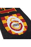 Galatasaray Unisex Orjinal Lisanslı Akirilik Çift Kat Örme Atkı