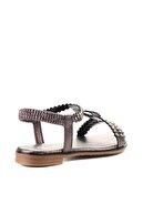 Bambi Platin Kadın Sandalet L0512025236