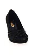 Bambi Siyah Kadın Abiye Ayakkabı L0501036806