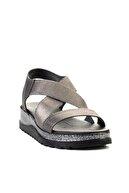 Bambi Platin Kadın Sandalet L0658550209
