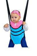 Bundera Eko Üçlü Set Bebek Hamak Beşik Hoppala Zıpzıp Yürüteç Asmalı Salıncak Çingene Beşiği Takımı