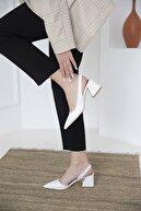 Straswans Kadın Deri Topuklu Ayakkabı