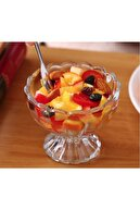 ZUZU MADE 6'lı Kase Sunumluk Dondurmalık - Tatlı Servisi