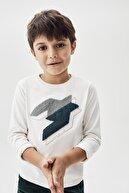Nebbati Erkek Çocuk Beyaz T-shirt 20fw0nb3520