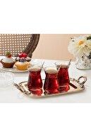 Madame Coco Francessa 6'lı Çay Bardağı Seti 132 ml