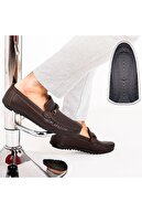 Milano Brava Ortopedik Loafer Erkek Ayakkabı Mln1102 Kahverengi