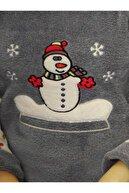 Sude Welsoft Polar Kadın Pijama Takımı Füme