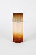Rakle New Iconic Bardaklı Sürahi Amber 700 Cc