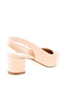 Bambi Somon Nubuk Kadın Klasik Topuklu Ayakkabı K01503721071