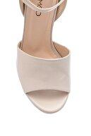 Derimod Kadın Deri Kalın Topuklu Ayakkabı