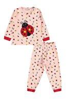 Civil Girls Kız Çocuk Pijama Takımı 2-5 Yaş Pudra