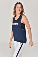 bilcee Lacivert Kadın Atlet Gs-8611