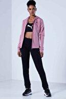 Puma Classic Hd Sweat Suit Fl Cl Kadın Eşofman Takım 583655 16 Siy-gül K.