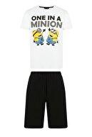 Penti Erkek Minions One Şort Pijama Takımıı