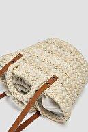 Pull & Bear Tutma Saplı Mini Sepet Çanta