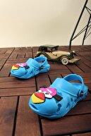 Oksit Unisex Çocuk Turkuaz Bella Bird Sandalet